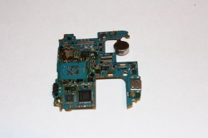 After BGA Chip was Removed